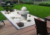 Садовый уголок в японском стиле
