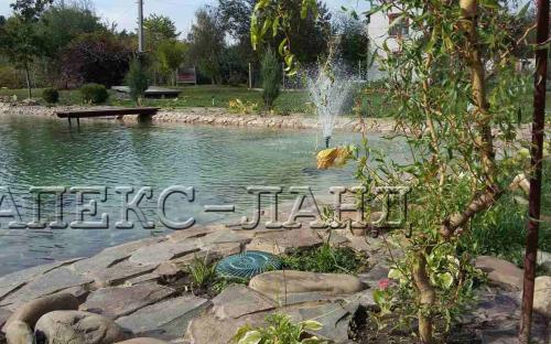 фонтанный насос 3000 л/ч, висота струи фонтана 1,6 м