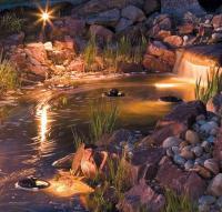 плавающие светильники для пруда